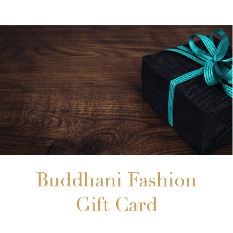 Gift Certificates - Buddhani Fashion jewelry for men