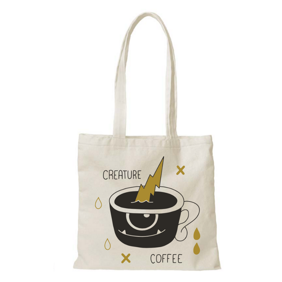 creature coffee, tote bag, cup, lightning, coffee mug, pour over, home brewing, ceramic cup, gift coffee card, best gift, coffee present, best gift card for coffee, coffee subscription, texas coffee, austin coffee, buy coffee beans, specialty coffee, third wave coffee, native hostel coffee, sxsw coffee shop, barista coffee subscription, dallas coffee, beans to your door, best coffee subscription, texas specialty coffee, decaf, swiss water process, sugarcane decaf