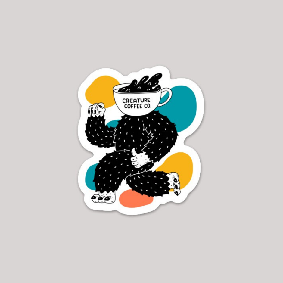 Sticker - Running Creature Dude