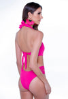 Maio Hip Side Stripes - Pink
