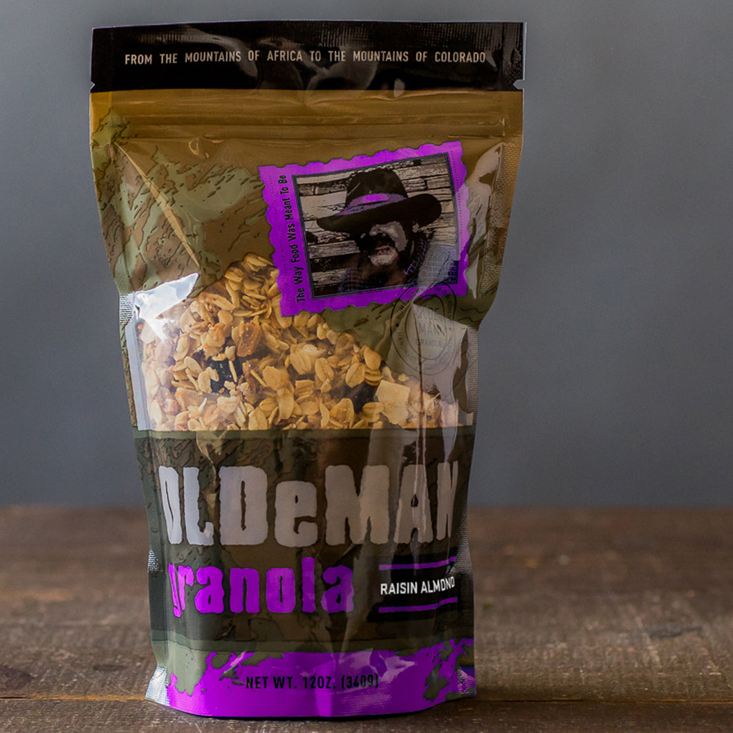 12 oz. Raisin Almond Granola