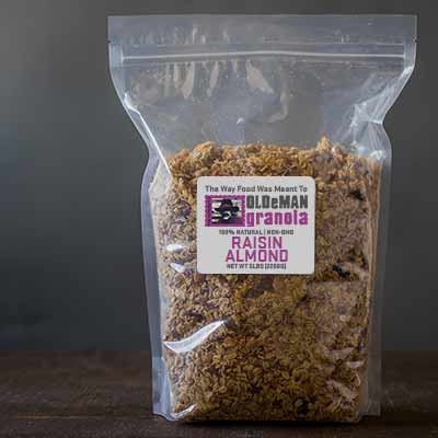5 lb Raisin Almond Granola