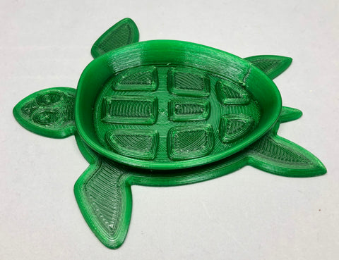 Soap Dish- Oval Turtle