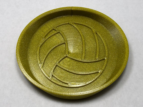 "Soap Dish- 3"" Volleyball"