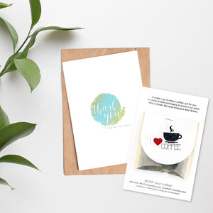 Card + Coffee - Thank You, You're The Best