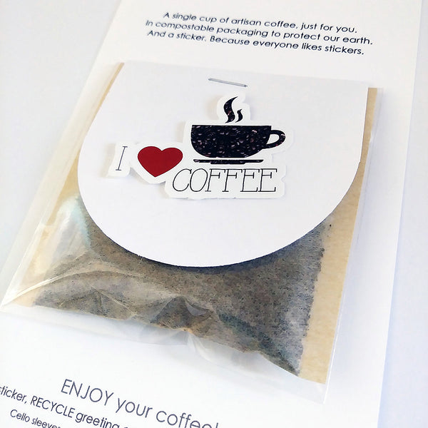 Card + Coffee - Sending You Love & Coffee