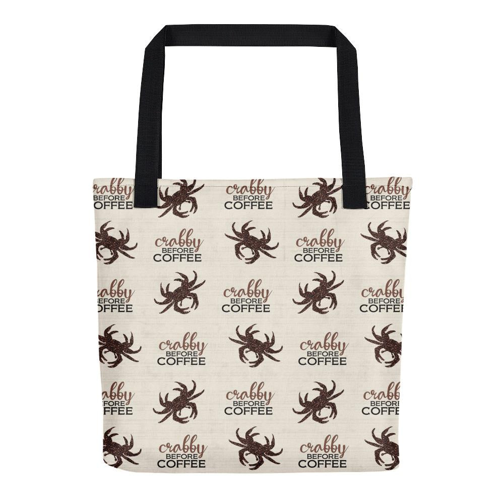 CRABBY Patterned Tote Bag