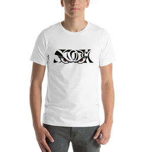 CUSTOM Short-Sleeve Unisex T-Shirt - WHITE LOGO