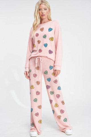 Candy Lounge Wear Set