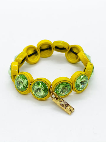Lisbon Yellow Green Bracelet | TOVA Jewelry