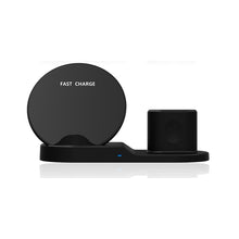 3 In 1 Fast Charge Wireless Charger For iphone XS XR XS Max Wireless Charger Dock Station For Apple Watch Series 1 2 3 4 Airpods