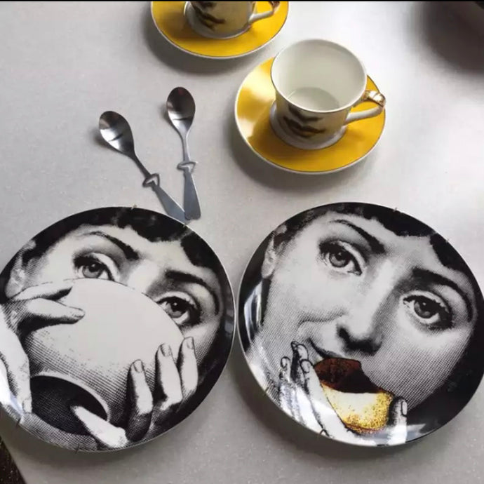 Breakfast Lovers Set - 2 Porcelain 8