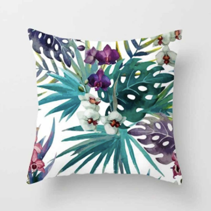 Decorative Rainforest Pillow Cover 18