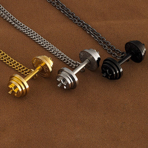 Adjustable Dumbbell Necklace