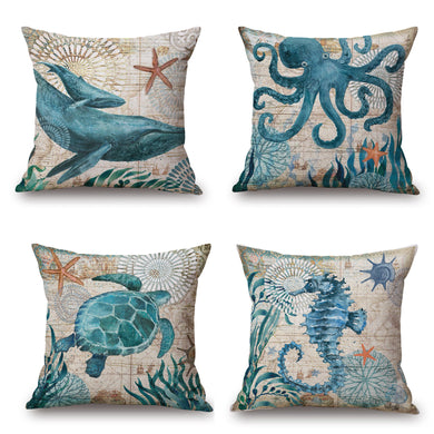 Marine Decorative Pillow Cover 18