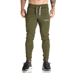 Fitted Green Jogger Sweatpants