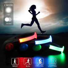 LED Shoe Clips Safety Lights