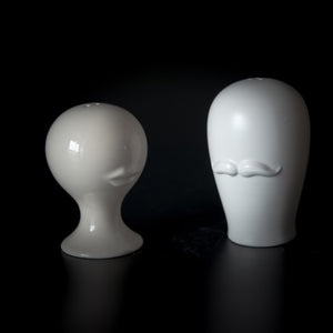 Ceramic Mr & Mrs Salt & Pepper Shaker Set