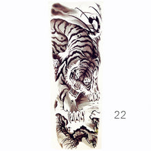 Full Sleeve Realistic Arm Temporary Tattoo