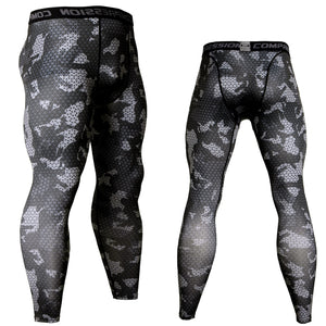 Compression Men's Leggings Camouflage