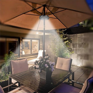 Solar Rechargeable 36 LED Lights for Patio Umbrella