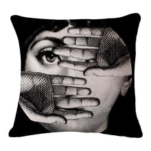 "Decorative Vintage Art Beauty Pillow Cover 18""x18"""