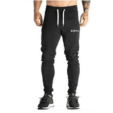 Fitted Black Jogger Sweatpants