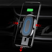 Qi Wireless Automatic Clamping Fast Car Charger Mount Holder