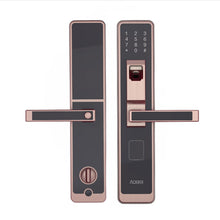 Smart Door Lock, Digital Touch Screen Keyless Fingerprint+Password. Supports iOS and Android