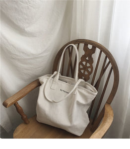 Canvas Shoulder Bag By Morisot - Koteli