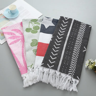 Turkish Fringed Towel - Koteli