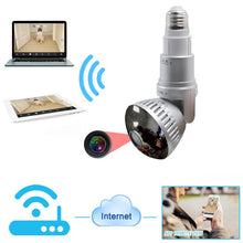 Bulb Security Camera with Motion Detector and Recording Storage - Koteli