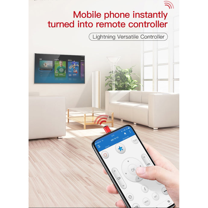 Universal infrared remote control for iPhone - Koteli