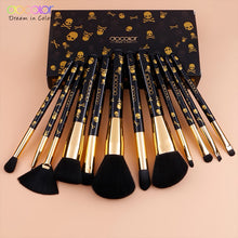 Goth 12PCS MakeUp Brush Set Soft Synthetic Collection - Koteli