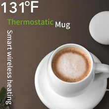 Heating Mug with Wireless Charging Base for iPhone and Samsung S series - Koteli