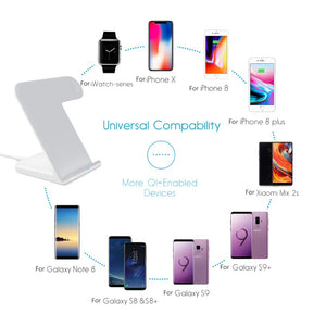 Wireless Charger For Apple Watch and Fast Wireless Charger for iPhone and Android - Koteli