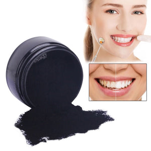 Teeth Whitening Charcoal Powder & 2 Toothbrushes - Koteli