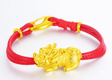 Charm Bracelet with Genuine Leather Rope - Koteli