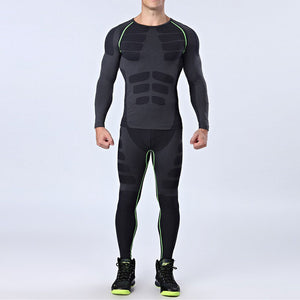 Dry Fit Compression Tracksuit.