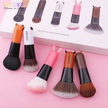 Cartoon Face Kabuki Makeup Brush Set - Koteli