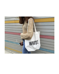 Canvas Letter Shoulder Bags - Koteli