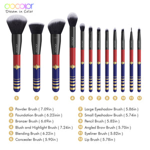 STARLIGHT GODDESS 12PCS Make up Brushes Set - Koteli