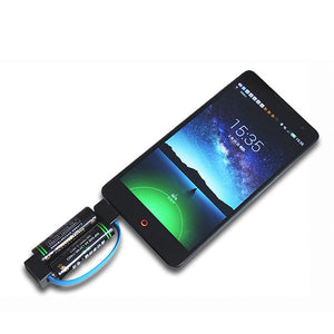Mini Portable Magnetic AA/AAA Battery Powered Micro USB Phone Charger for Android Phones - Koteli