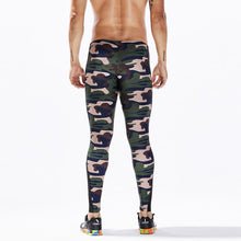 Camouflage Sport Leggings in Black