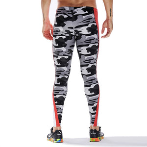 Camouflage Sport Leggings in Red