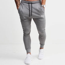 Grey Tapered Sweatpants