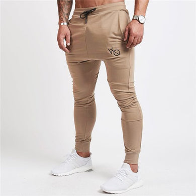 Khaki Tapered Sweatpants