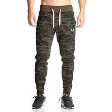 Fitted Camouflage Jogger Sweatpants