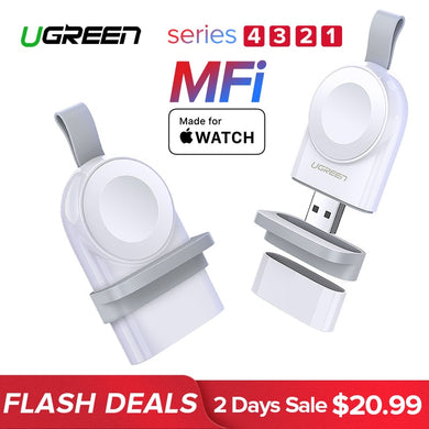 Fast Wireless USB Charger For Apple Watch Series 4 3 2 1