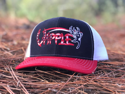 VAPPLE HAT | RED, WHITE, & BLUE